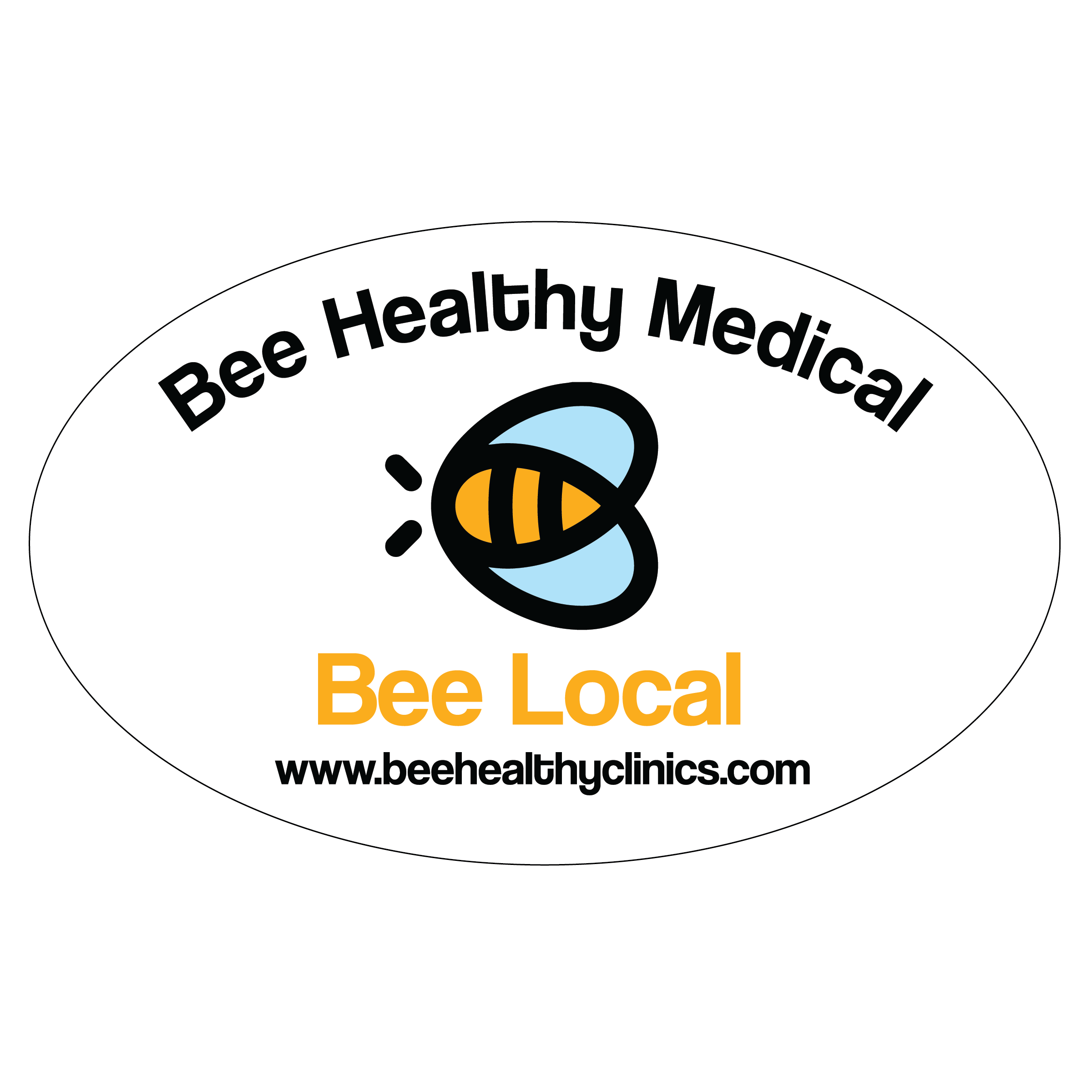 bee local decal