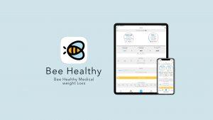 Bee Healthy app on iPad and iPhone